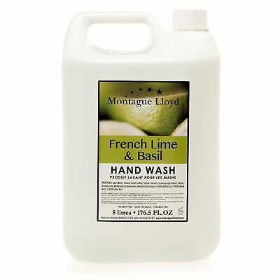 Montague Lloyd Commercial French Lime & Basil Hand Wash Refill (5 Litre)