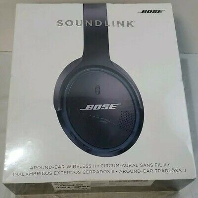 New Bose Soundlink Around-Ear Wireless Headphones II - Black FREE SHIPPING