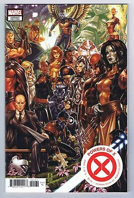 Powers of X #1 Mark Brooks Connecting Variant Near Mint 2019 Marvel Comics