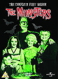 The Munsters Complete First Season Series DVD 6-disc boxset