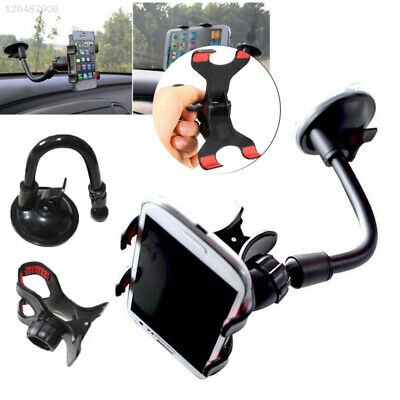 360° Rotating ABS Flexible Universal Car Phone Holder Fashion Useful 2017 Mount