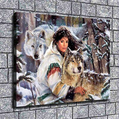 """12""""x14""""The beauty Paintings Print on Canvas Home Decor Wall Art Pictures posters"""