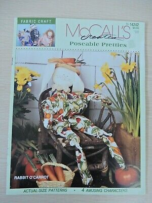 McCall's Creates Poseable Pretties No. 14242 Fabric Craft 1994