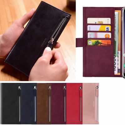 Bestie Zipper Wallet Case for Samsung Galaxy J4+ J6 J7 J2 Pro 2018/ J5 2017/ On7