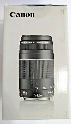 Canon EF 75-300 mm F/4.0-5.6 III Lens (6473A003) Brand New In Box