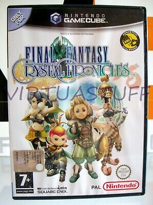 Final Fantasy, Crystal Chronicles, Nintendo, GameCube, WII, PAL, Italian Market