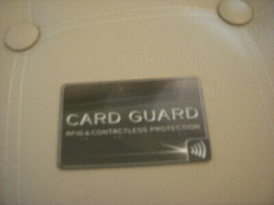 Go-Travel Card Guard Rfid Contactless Protection.