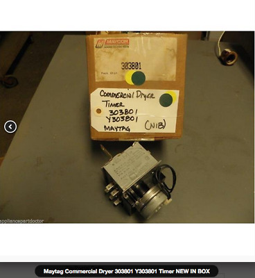 WhirlpoolMaytag Commercial Dryer 303801 Y303801 Timer NEW IN