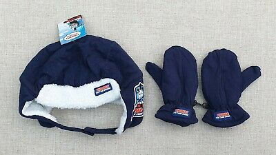 Thomas The Tank Engine Fleece Lined Trapper Hat & Mittens Set 1-6 Years BNWT