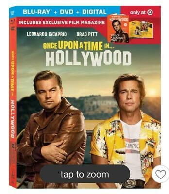 Once Upon A Time In Hollywood - DVD Leonardo DiCaprio TARGET EXCLUSIVE PRE ORDER