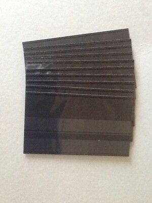 Windmill Stockcards 10 x 2 strip Black coverfoil  NEW Over 202 Sold
