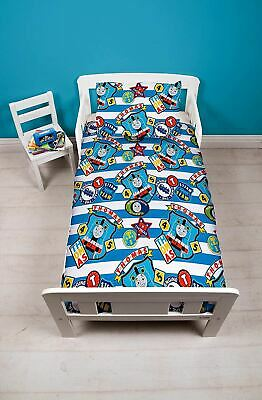 Thomas & Friends Patch Junior Toddler Cot Bed Bundle, Duvet, Pillow, Bedding