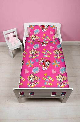 Paw Patrol Forever Junior Toddler Cot Bed Bundle, Inc Duvet, Pillow, Bedding