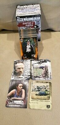 Topps 2018 The Walking Dead Hunters & Hunted Complete Rust Base Set + 4 Insert