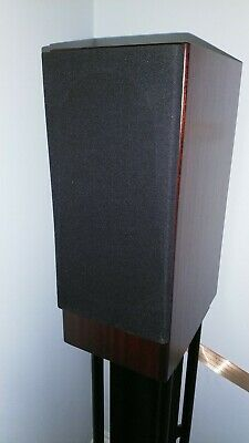 Totem Rokk Mahogany Speakers with Partington Super Dreadnought stands