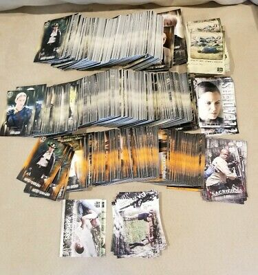 Topps 2018 The Walking Dead Hunters & Hunted 754 Mixed Card Lot Base Rust Insert
