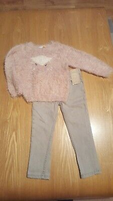 Girls Age 3 John Lewis Outfit Jumper And New Jeans