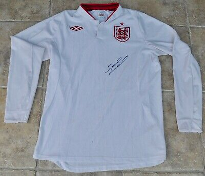 Frank Lampard Signed England Football Shirt Chelsea