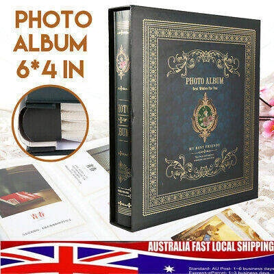 500 Pages Photo Album Memo Book Scrapbook Family Wedding Gift Valentines Day AU