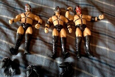 WWE Jakks Classic Superstars figures Demolition Axe Smash Crush Masks Mattel Ax