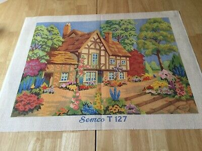 TAPESTRY CANVAS - Cottage - T127 - Semco Brand