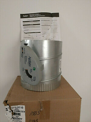 Aprilaire 6110 10'' Barometric Damper with Actuator 342018 Zoned Comfort Control