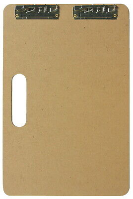 Heavy Duty Drawing Board with Clips, 23 x 26 Inches