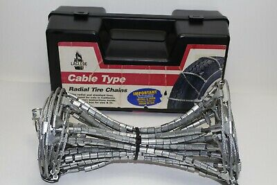 Laclede Cable Tire Snow Chains No.1022
