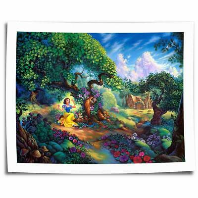 "16""x22""Snow White Poster HD Canvas prints picture Home decor Room Wall art photo"
