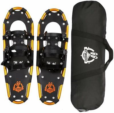 """All Terrain Snowshoes Lightweight Aluminum Alloy Snow Shoes With Carry Bag 30"""""""
