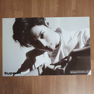 [Poster Only] Taemin SuperM 1st Mini Album SuperM Hard Case Tube Packing
