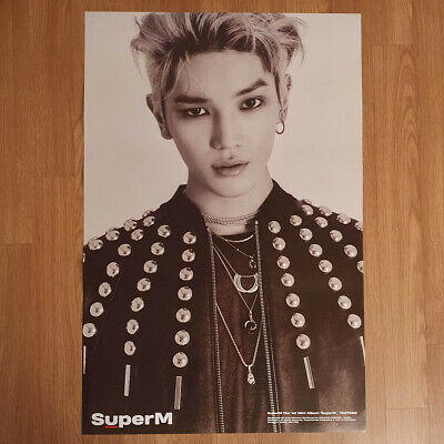 [Poster Only] Taeyong SuperM 1st Mini Album SuperM Hard Case Tube Packing