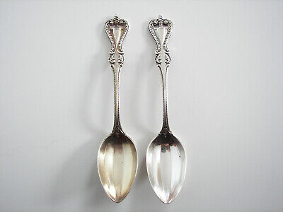 Gold Wash Towle OLD COLONIAL STERLING Salt Spoon 996741