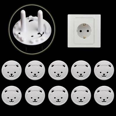 Chic 10Pcs/set Baby Electric Power Plug Protection Safety Guard Protector