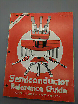 Vintage 1986 Archer Semiconductor Reference Guide from Radio Shack