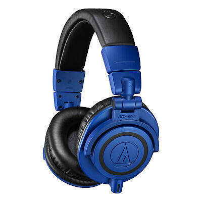 Audio-Technica ATH-M50x Monitor Headphones (Blue/Black) - Limited Edition