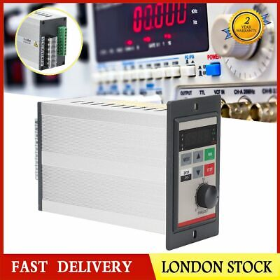 AC 220V 0.2KW Variable Frequency Drive Motor Speed Controller VFD  Single Phase