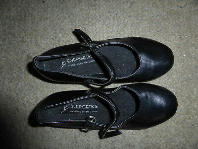 Energentiks black tap shoes size 13