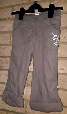 t u girls trousers aged 2 - 3 year's