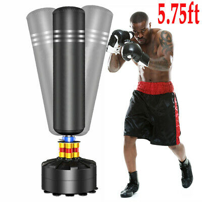 Heavy Duty Free Standing Boxing Punch Bag MMA Kick Martial Art Training Indoor