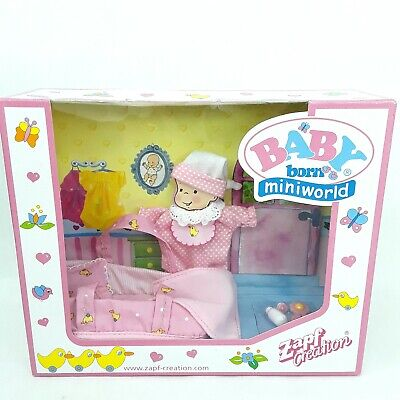 Baby Born Miniworld  toy doll figure clothes accessories Mini Miniature Zapf