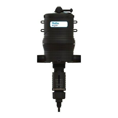 Water-driven proportional injector pump - 5% variable