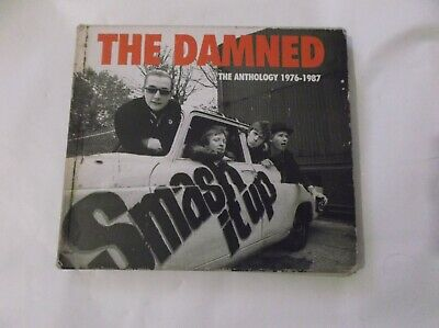 The Damned–Smash It Up. The Anthology 1976-1987-2×CD,Compilation-CMEDD476