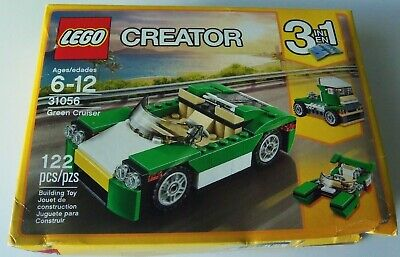 New Lego CREATOR Green Cruiser 31056 Building Toy 122-pcs
