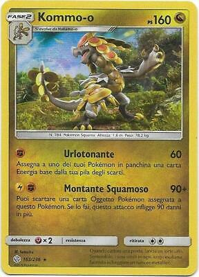 Pokemon Kommo-O 163/236 Rara Holo Eclissi Cosmica The Real_Deal Shop