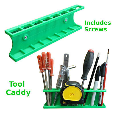 Tool holder caddy garage workshop organisation trade work van ply lining storage