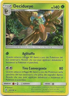 Pokemon Decidueye 20/236 Rara Holo Eclissi Cosmica The Real_Deal Shop