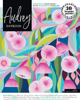 AUDREY DAYBOOK: World's Most Enchanting Puzzle & Lifestyle Magazine Issue 14