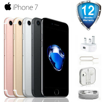 New Apple iPhone 7 -32GB / 128GB - Factory Unlocked-Various Colors Smartphone UK