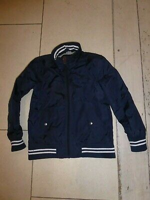 Jasper Conran - Boys Navy Blue Waterproof jacket with hood age 10 years - School